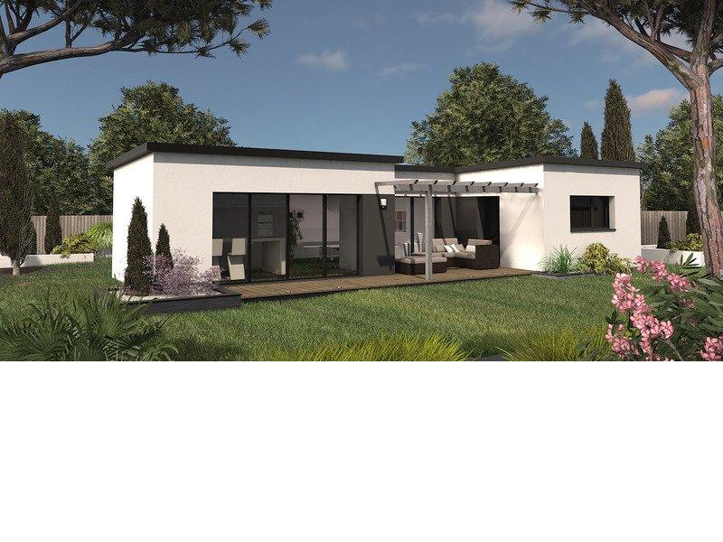 Maison+Terrain de 4 pièces avec 3 chambres à Allineuc 22460 – 169192 €