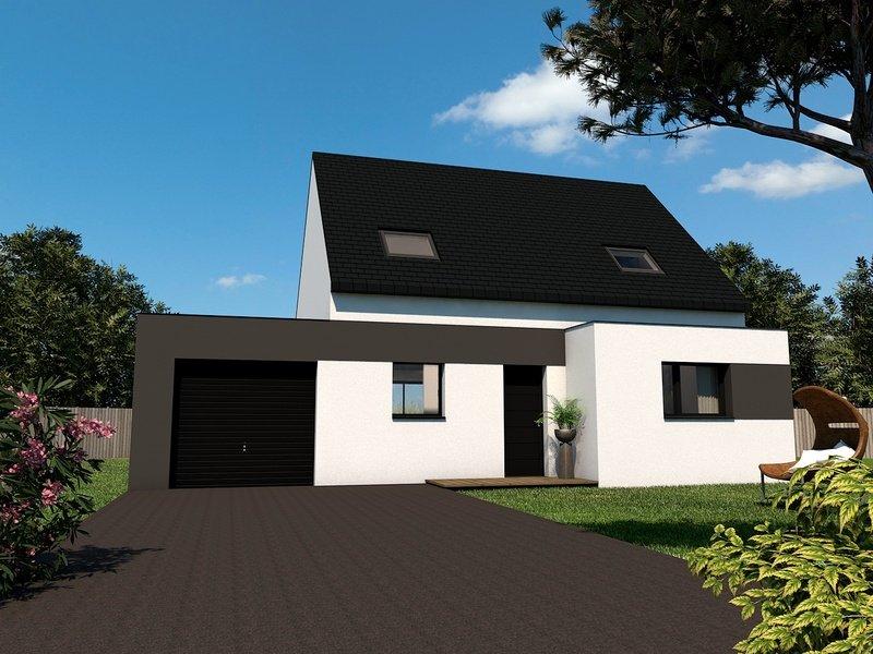 Maison+Terrain de 5 pièces avec 4 chambres à Plouguenast 22150 – 151270 € - CHO-18-11-14-9