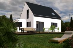 Maison+Terrain de 4 pièces avec 3 chambres à Plourin lès Morlaix 29600 – 172000 €