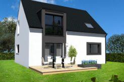 Maison+Terrain de 6 pièces avec 4 chambres à Sainte Anne d'Auray 56400 – 205000 €