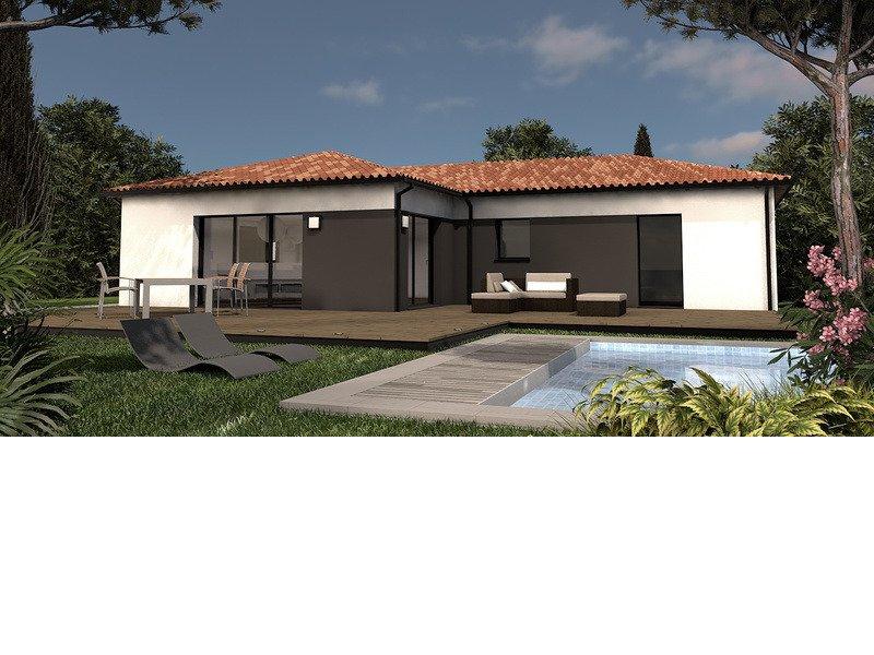 Maison de 113m2 avec 4 pièces dont 3 chambres - M-MR-170804-5032