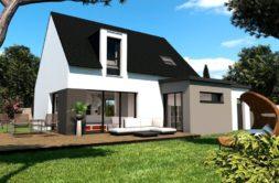 Maison+Terrain de 5 pièces avec 4 chambres à Saint Brieuc 22000 – 233182 € - CHO-19-10-17-73