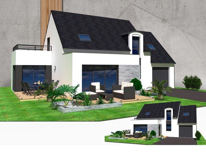 Maison+Terrain de 6 pièces avec 4 chambres à Ploubalay 22650 – 207000 € - NDE-18-08-10-36