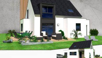 Maison+Terrain de 6 pièces avec 4 chambres à Léhon 22100 – 216100 €