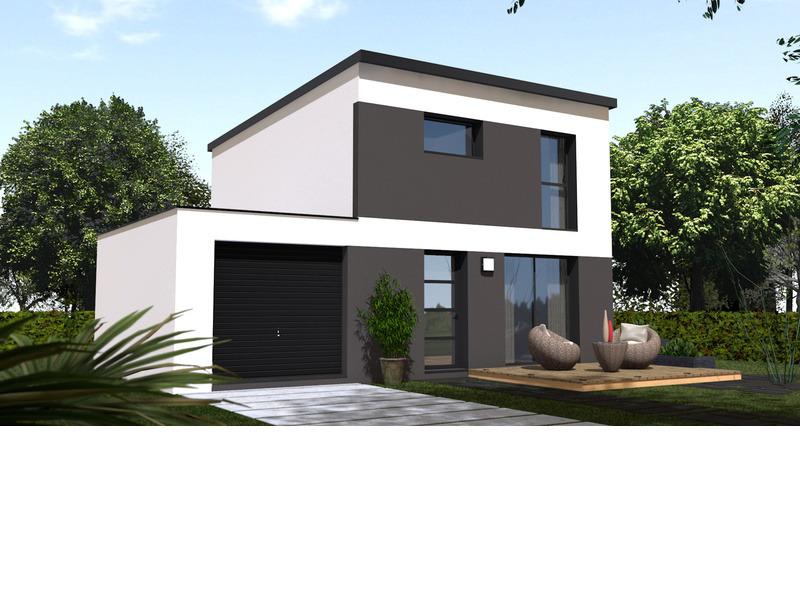 Maison de 75m2 avec 4 pièces dont 3 chambres - M-MR-161222-3948