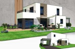 Maison+Terrain de 6 pièces avec 3 chambres à Plélan le Petit 22980 – 251580 €