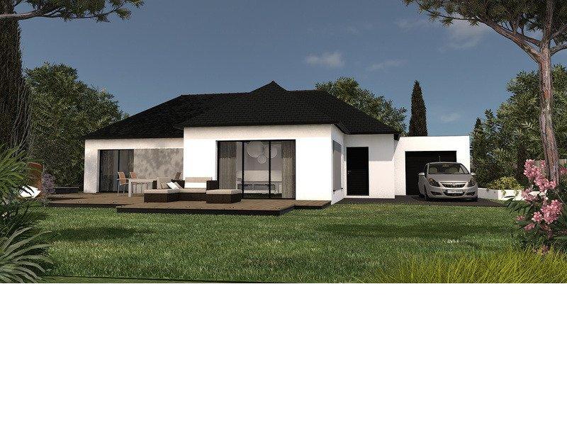 Maison+Terrain de 5 pièces avec 3 chambres à Plélan le Petit 22980 – 254480 €