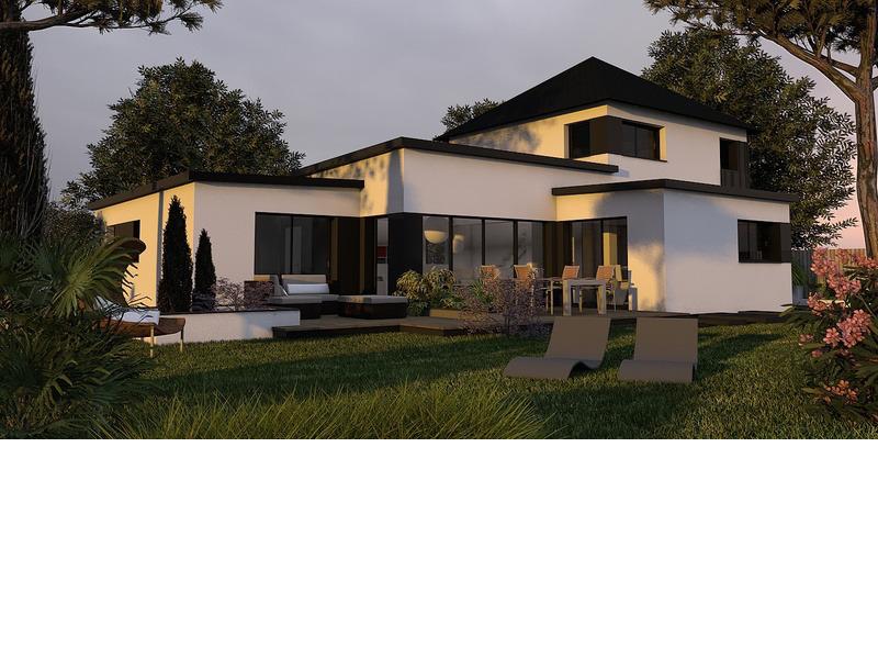 Maison+Terrain de 7 pièces avec 4 chambres à Léhon 22100 – 350380 €