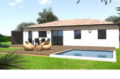 Maison+Terrain de 4 pièces avec 3 chambres à Montberon 31140 – 270000 €