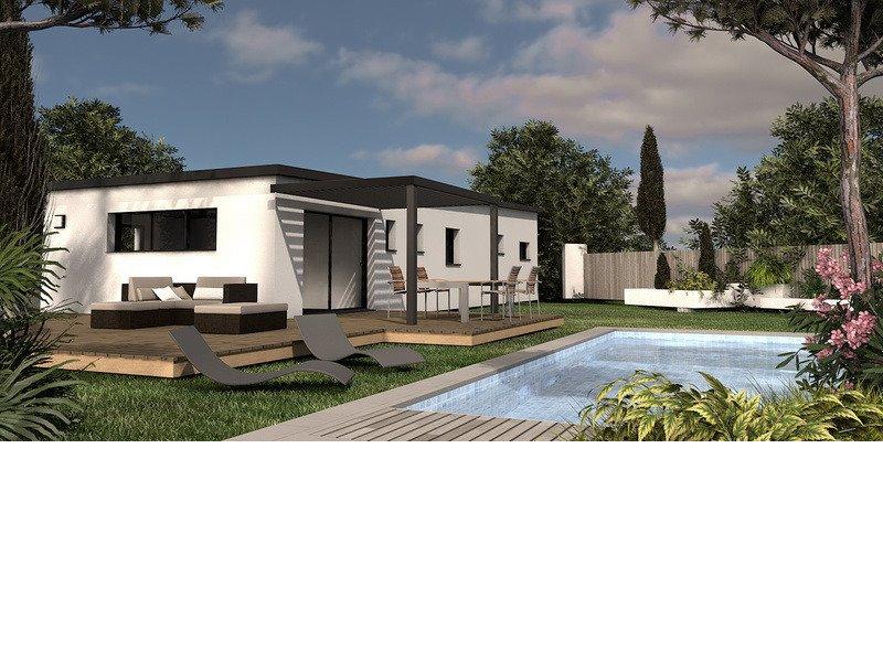 Maison de 110m2 avec 5 pièces dont 4 chambres - M-MR-170804-5063