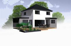 Maison+Terrain de 6 pièces avec 4 chambres à Saint Aubin d'Aubigné 35250 – 216725 € - BBA-19-03-31-10