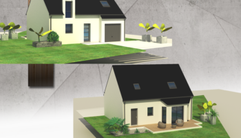 Maison+Terrain de 6 pièces avec 3 chambres à Mouzeil 44850 – 167600 €