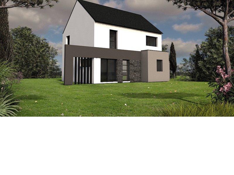 Maison+Terrain de 6 pièces avec 4 chambres à Saint Méloir des Ondes 35350 – 241000 € - GBL-18-08-09-11