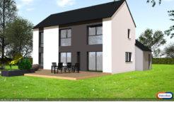 Maison+Terrain de 7 pièces avec 5 chambres à Saint Méloir des Ondes 35350 – 273000 € - GBL-18-08-09-8