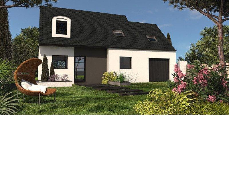Maison+Terrain de 6 pièces avec 4 chambres à Guignen 35580 – 168000 €