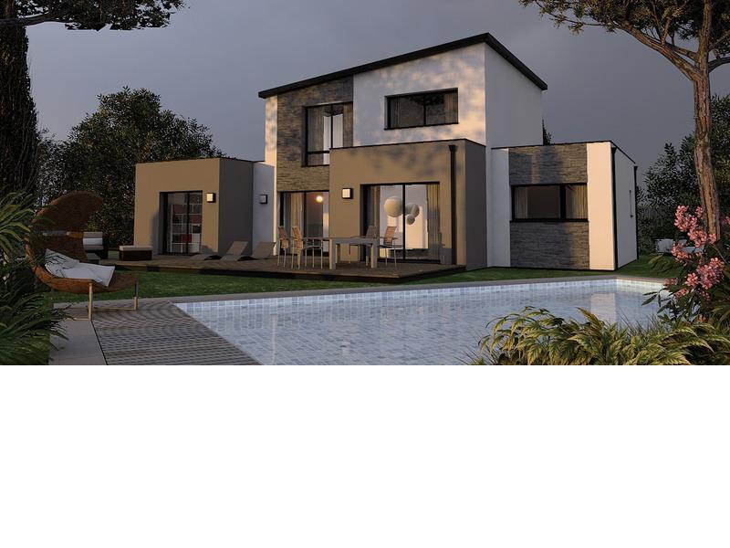 Maison de 130m2 avec 5 pièces dont 4 chambres - M-MR-170804-5018