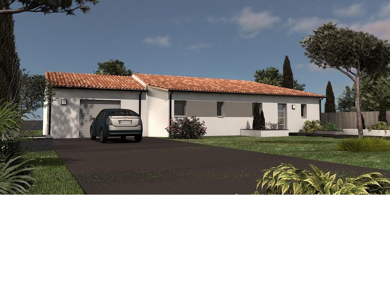Maison de 100m2 avec 4 pièces dont 3 chambres - M-MR-170804-5021