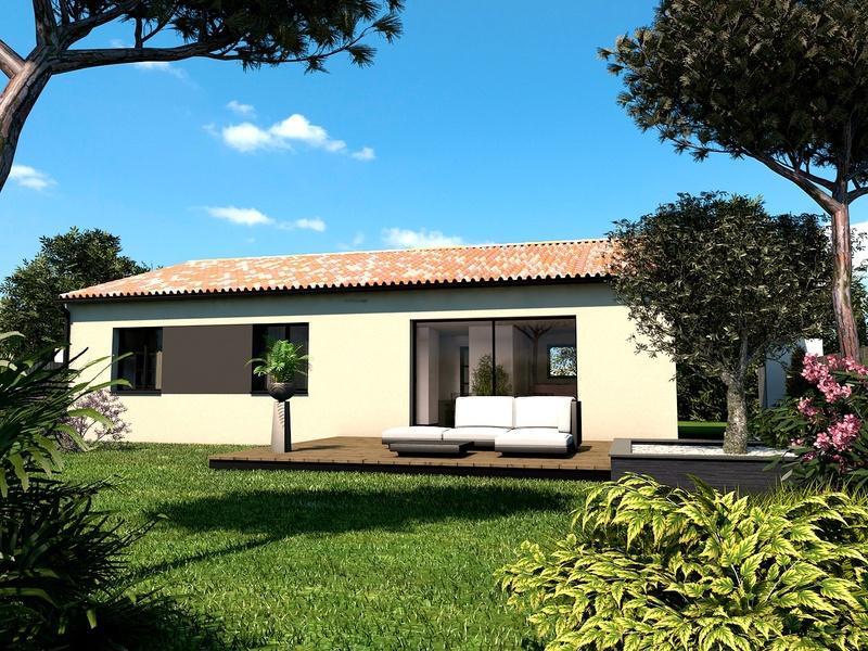 Maison+Terrain de 4 pièces avec 3 chambres à Cabanac et Villagrains 33650 – 197748 €