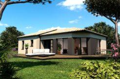 Maison+Terrain de 4 pièces avec 3 chambres à Cabanac et Villagrains 33650 – 194348 €