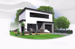Maison+Terrain de 6 pièces avec 4 chambres à Ercé près Liffré 35340 – 191500 € - BBA-18-09-17-26