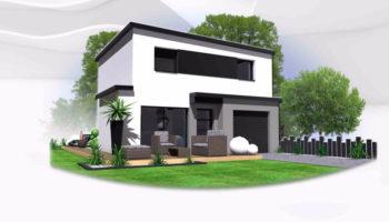 Maison+Terrain de 6 pièces avec 4 chambres à Saint Aubin d'Aubigné 35250 – 201725 € - BBA-19-03-31-11