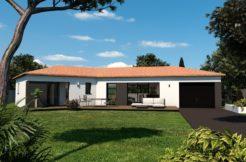 Maison+Terrain de 6 pièces avec 3 chambres à Salleboeuf 33370 – 269000 €