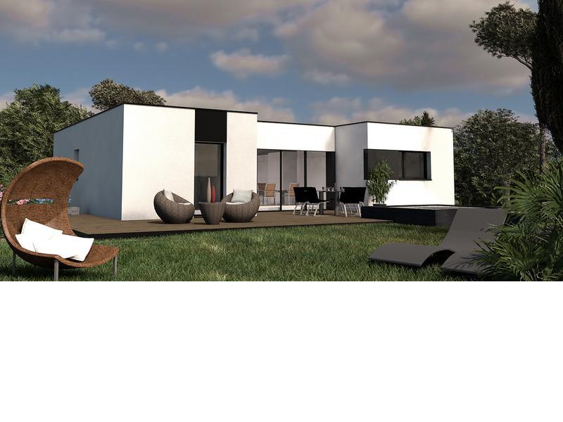 Maison de 85m2 avec 4 pièces dont 3 chambres - M-MR-170804-5023