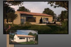 Maison+Terrain de 4 pièces avec 3 chambres à Cabanac et Villagrains 33650 – 209772 €