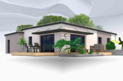 Maison+Terrain de 4 pièces avec 3 chambres à Cabanac et Villagrains 33650 – 217000 €