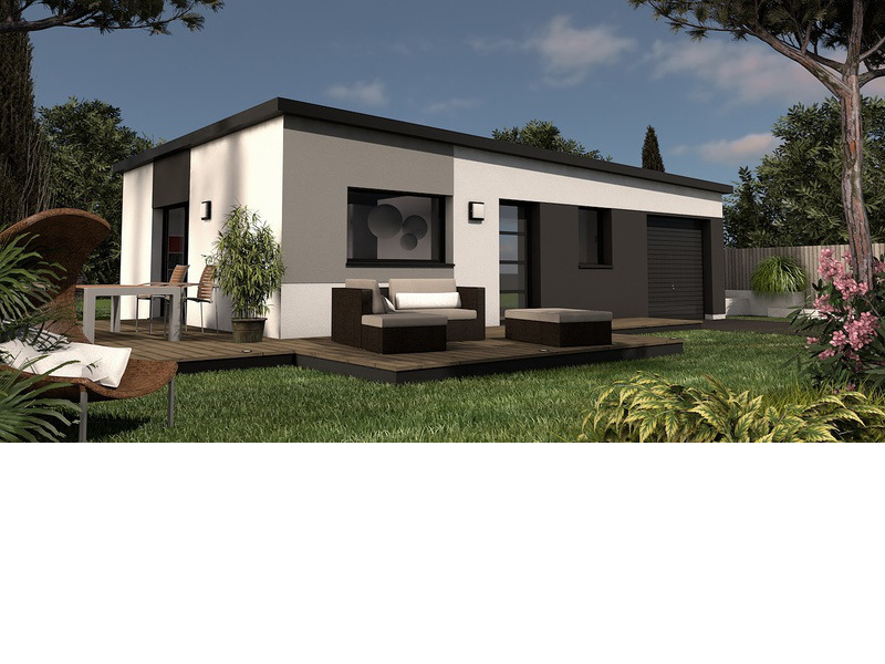 Maison+Terrain de 4 pièces avec 3 chambres à Thou 17290 – 176200 €