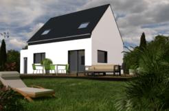 Maison+Terrain de 5 pièces avec 4 chambres à Serres Castet 64121 – 211900 € - NLA-18-10-22-52