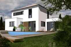 Maison+Terrain de 5 pièces avec 4 chambres à Serres Castet 64121 – 258900 € - NLA-18-10-22-53
