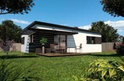 Maison+Terrain de 4 pièces avec 2 chambres à Santec 29250 – 197000 € - MHE-18-12-19-198