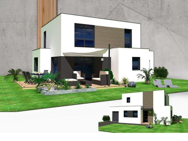 Maison+Terrain de 7 pièces avec 4 chambres à Santec 29250 – 233290 €