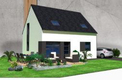Maison+Terrain de 5 pièces avec 4 chambres à Tréguidel 22290 – 152234 € - JBES-19-12-06-48