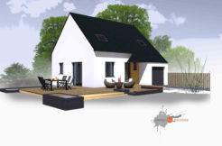 Maison+Terrain de 4 pièces avec 3 chambres à Trémuson 22440 – 169111 € - JBES-19-12-09-13