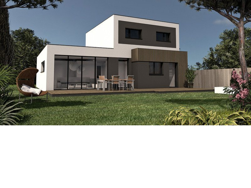 Maison+Terrain de 6 pièces avec 4 chambres à Plourin lès Morlaix 29600 – 217586 € - SDEN-19-05-24-30