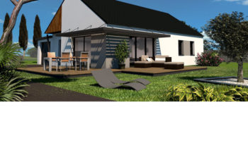 Maison+Terrain de 4 pièces avec 3 chambres à Saint-Yvi 29140 – 201752 € - EDE-19-04-29-62