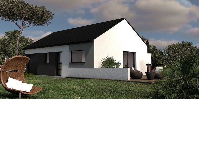 Maison+Terrain de 4 pièces avec 3 chambres à Morlaix 29600 – 174400 € - MHE-18-07-09-105