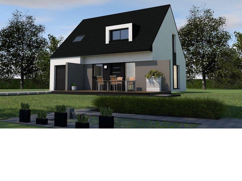 Maison+Terrain de 6 pièces avec 4 chambres à Saint Méloir des Ondes 35350 – 228000 € - GBL-18-08-09-13