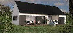 Maison+Terrain de 5 pièces avec 3 chambres à Saint Germain du Pinel 35370 – 162404 €