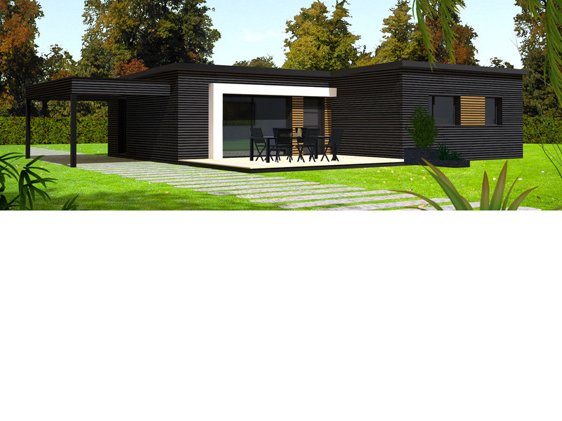 Maison+Terrain de 5 pièces avec 3 chambres à Drennec 29860 – 143320 € - CPAS-17-10-25-91