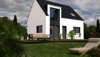 Maison+Terrain de 6 pièces avec 4 chambres à Sainte Anne sur Brivet 44160 – 203174 € - LBON-19-03-18-9