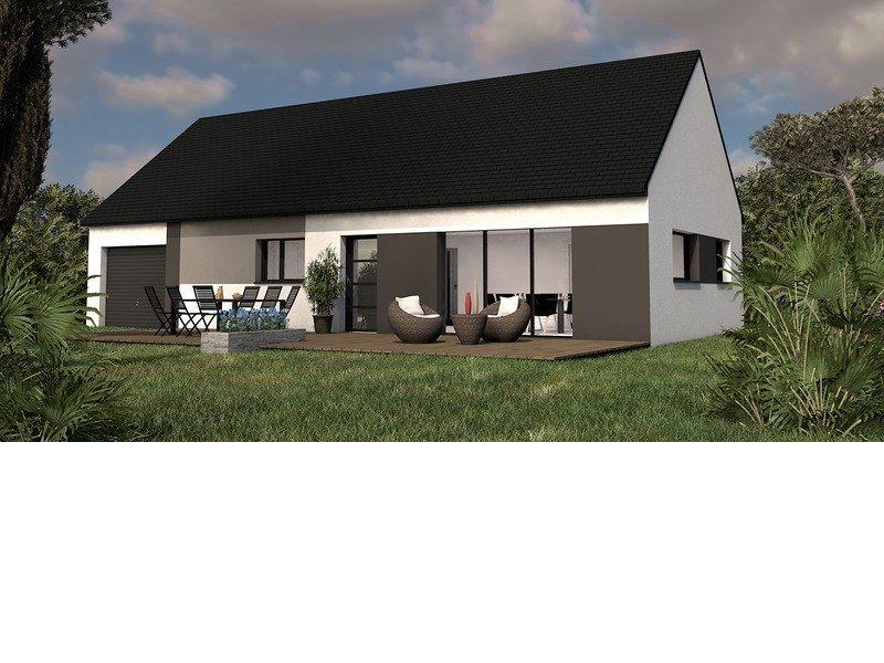 Maison+Terrain de 5 pièces avec 3 chambres à Saint Renan 29290 – 198500 €