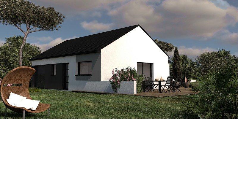 Maison+Terrain de 4 pièces avec 3 chambres à Cordemais 44360 – 198211 €