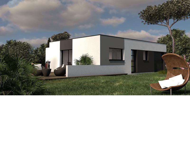 Maison+Terrain de 5 pièces avec 4 chambres à Cordemais 44360 – 211334 €