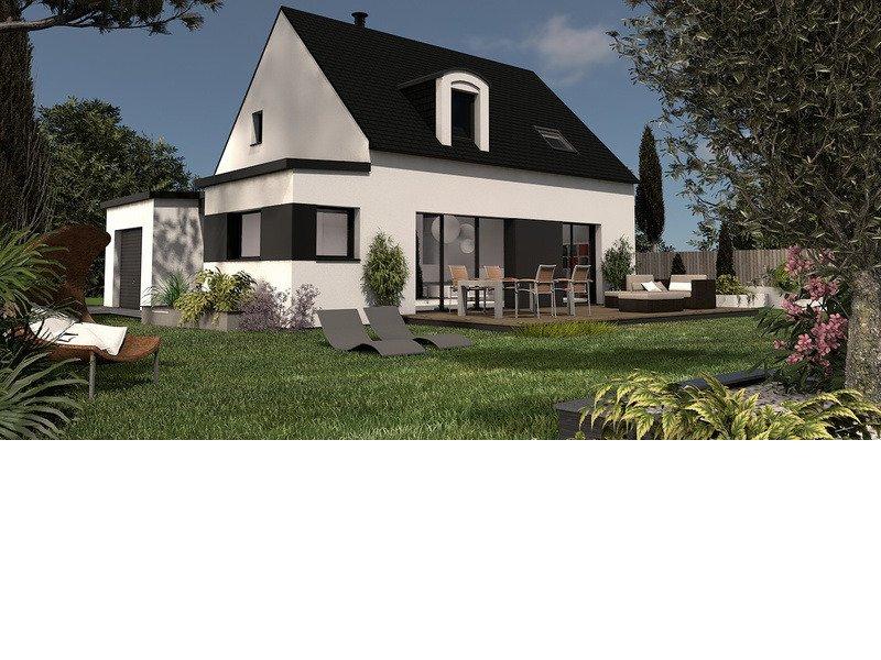 Maison+Terrain de 6 pièces avec 4 chambres à Riantec 56670 – 220000 €