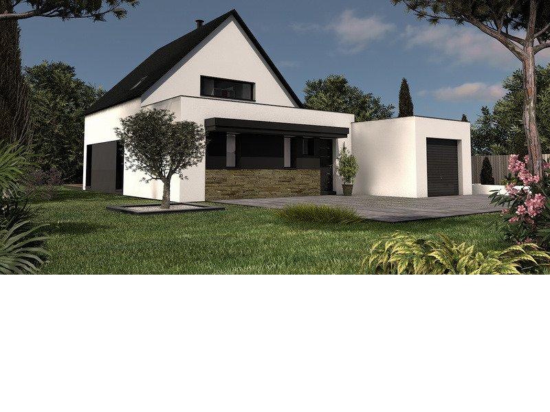 Maison+Terrain de 6 pièces avec 4 chambres à Locmiquélic 56570 – 239000 €
