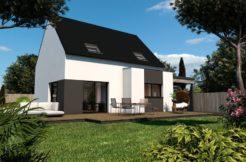 Maison+Terrain de 5 pièces avec 3 chambres à Trignac 44570 – 169080 €