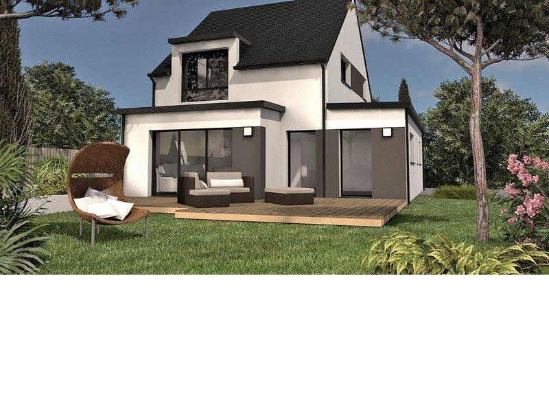Maison+Terrain de 5 pièces avec 4 chambres à Trignac 44570 – 208200 €
